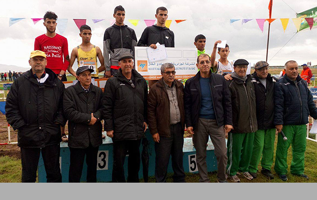 38e challenge national de cross-country SOUMMAM LIGUE D'ATHLETISME DE LA WILAYA DE BEJAIA